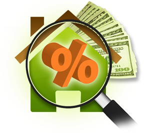 Website Savings Rates icon.